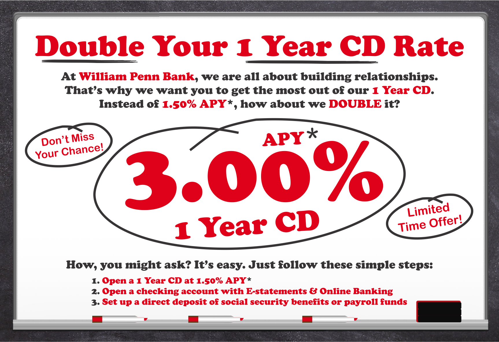 Double Your Rate CD